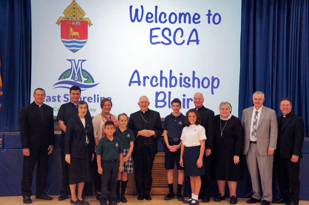 Welcome to ESCA — Archbishop Blair